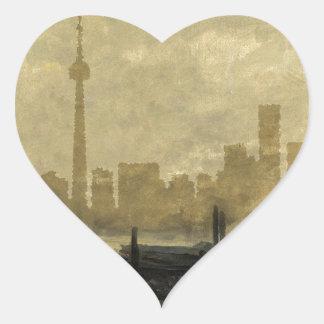 Sticker Cœur Horizon 41 de Toronto