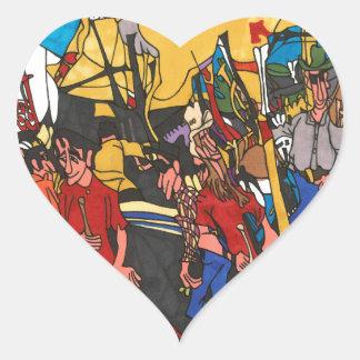 Sticker Cœur Intermédiaire