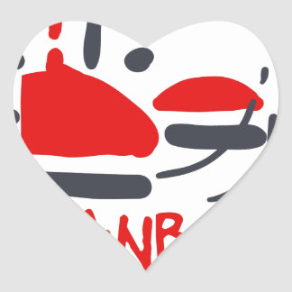 Sticker Cœur Istanbul
