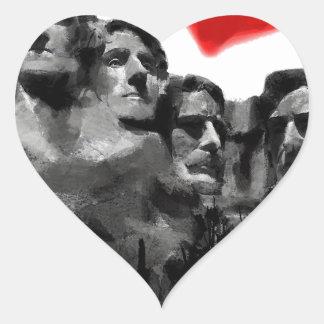 Sticker Cœur J'aime la ville rapide