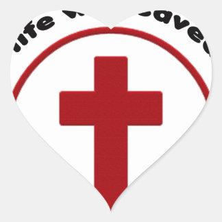 Sticker Cœur Jésus économise, T-shirt chrétien de cadeau de