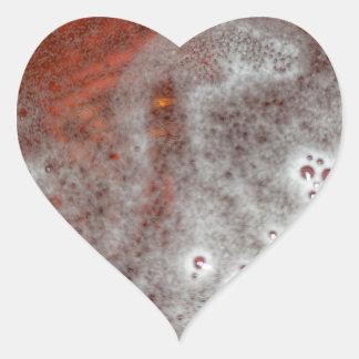 Sticker Cœur Juste la mousse