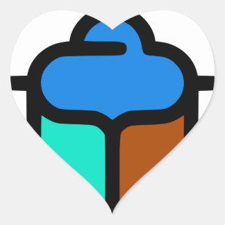 Sticker Cœur Khepri