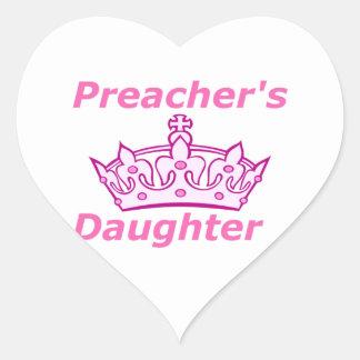 Sticker Cœur La fille du prédicateur
