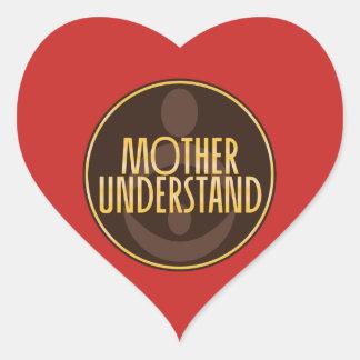 Sticker Cœur La mère comprennent