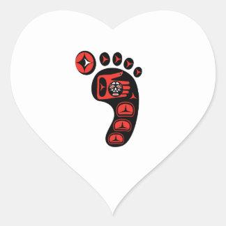 Sticker Cœur La voie
