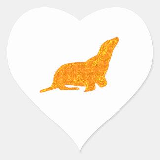 Sticker Cœur Le joint d'or