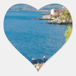 Sticker Cœur Le pêcheur sicilien