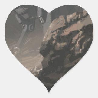 Sticker Cœur Le pilleur de la dernière guerre