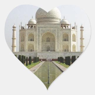 Sticker Cœur Le Taj Mahal