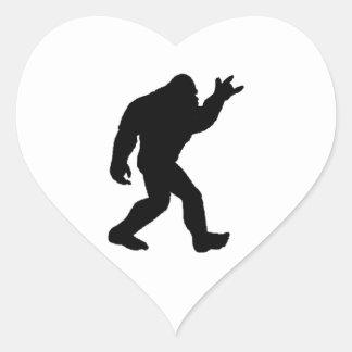 Sticker Cœur Légende de roche