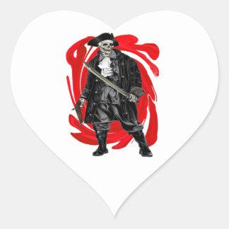 Sticker Cœur Les hommes morts ne disent aucun conte