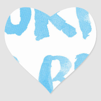 Sticker Cœur Les ressacs lèvent Bro
