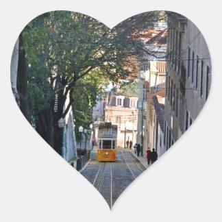 Sticker Cœur Lisbonne