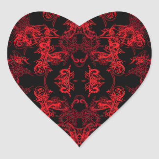 Sticker Cœur loisirs creatifs