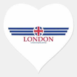 Sticker Cœur Londres
