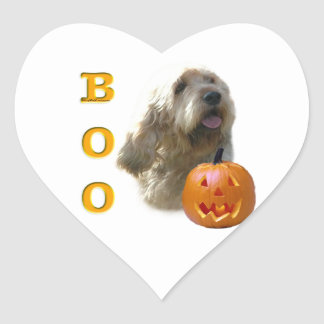 Sticker Cœur L'Otterhound Halloween HUENT