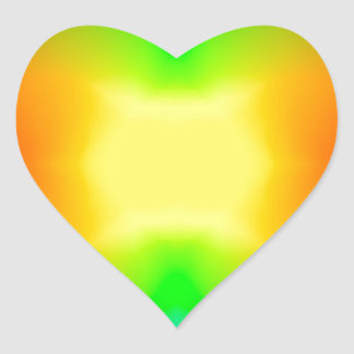 Sticker Cœur L'univers de division
