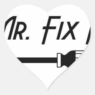 Sticker Cœur M. Fix It