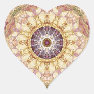 Sticker Cœur Mandalas du coeur du changement 2, articles de