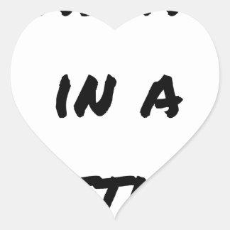 Sticker Cœur MASSAGE IN A BOTTLE ? - Jeux de mots
