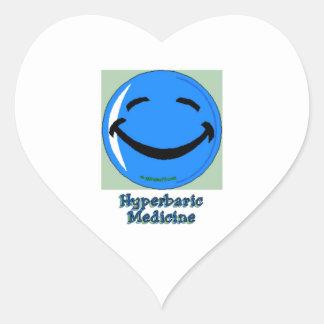 Sticker Cœur Médecine de barothérapie d'à haute fréquence