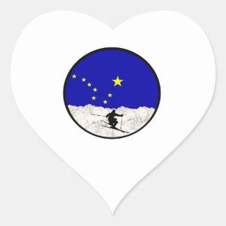 Sticker Cœur Même la précipitation