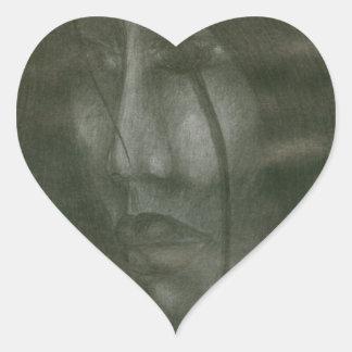 Sticker Cœur Nostalgie
