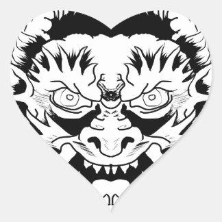 Sticker Cœur Nymphe de diable