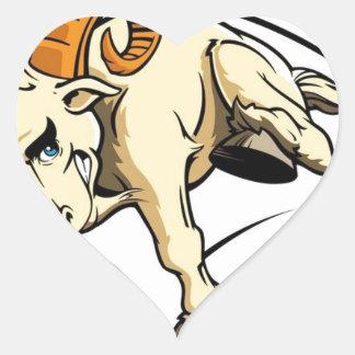 Sticker Cœur Obéissez la RAM