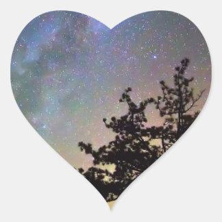 Sticker Cœur Obtenez perdu dans l'espace