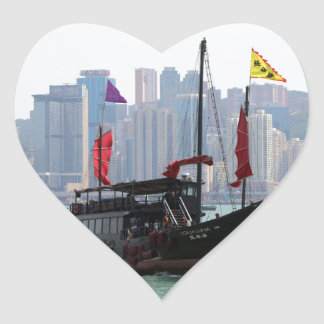 Sticker Cœur Ordure chinoise, Hong Kong 2