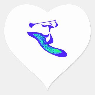 Sticker Cœur Palette