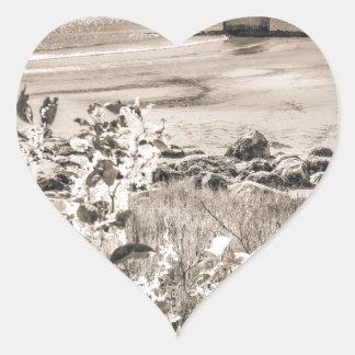 Sticker Cœur Phare de point de Sandy