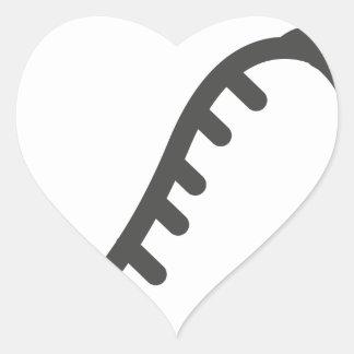 Sticker Cœur Piment