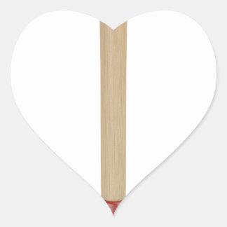 Sticker Cœur Plongeur rouge