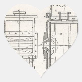 Sticker Cœur Pocletbook du mécanicien