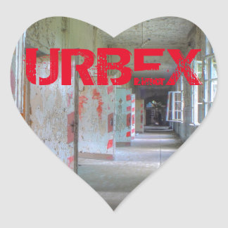Sticker Cœur Portes et couloirs 02,1, URBEX, Beelitz