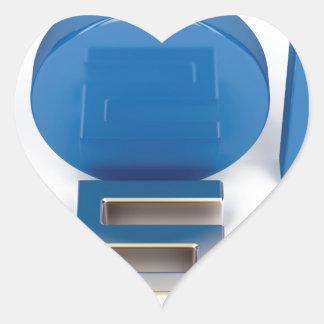 Sticker Cœur Principal 5