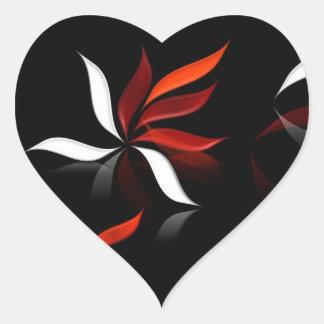 Sticker Cœur Quand le vent souffle…