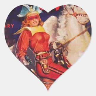 Sticker Cœur Reine proscrite de Vénus
