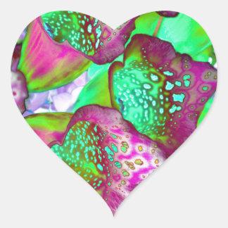 Sticker Cœur rêve de couleur
