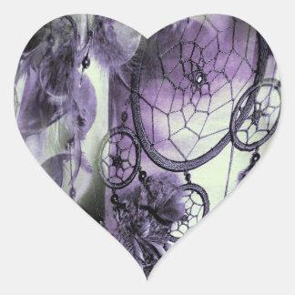 Sticker Cœur Rêves faits varier le pas