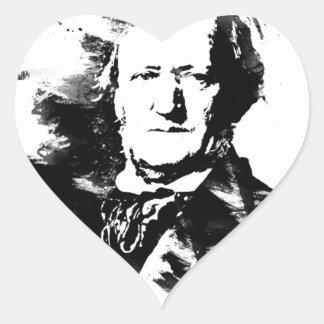 Sticker Cœur Richard Wagner
