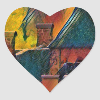 Sticker Cœur SAINT-VINCENT DE SALERSCello