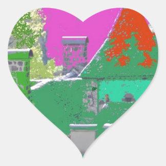 Sticker Cœur stvincent-couleurs aleatoires