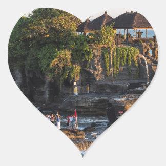 Sticker Cœur Tanah-Sort Bali Indonésie