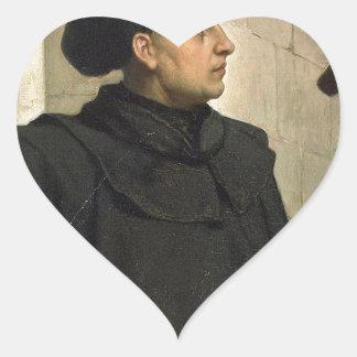 Sticker Cœur Thèse de Martin Luther 95