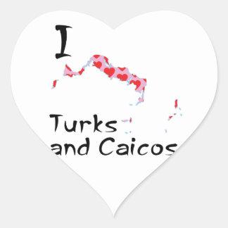 Sticker Cœur Turcs et la Caïques du coeur I