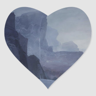 Sticker Cœur Un endroit à cacher